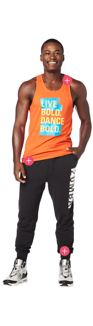 Herren Fitnessbekleidung Zumba Kleidung Zumba Fitness