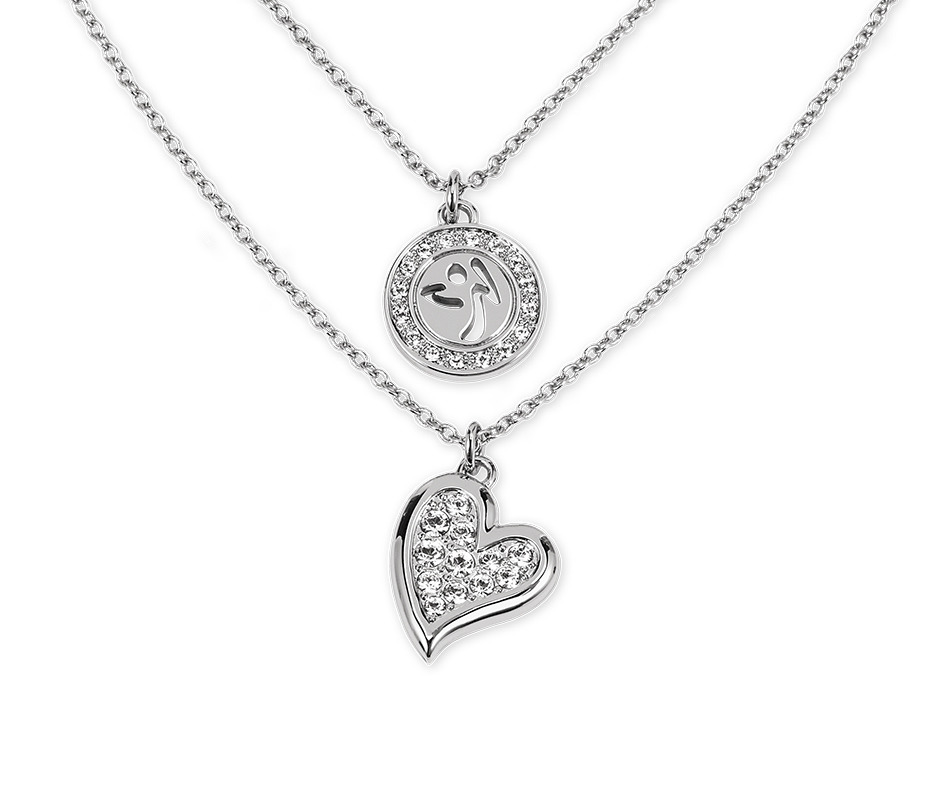 358f4a57334 Zumba Love Double Layer Necklace with Swarovski® Crystals | Zumba ...