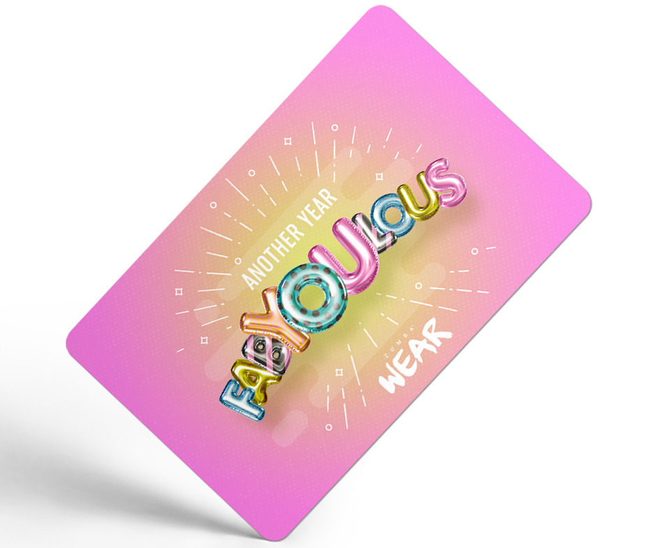 Another Year Fab YOU Lous E Gift Card