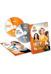 Zumba Gold Live it Up DVD