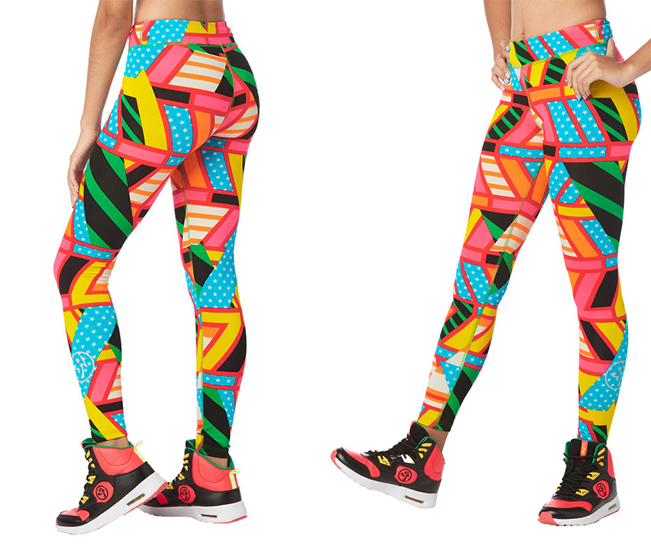a01c2f2b0b2fdb Zumba Victory Long Leggings | Zumba Fitness Shop