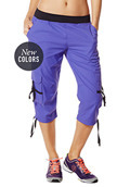 Oh-So-Soft Stretch Cargo Capris
