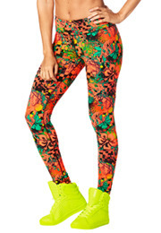 Queen Of The Jungle Perfect Long Leggings
