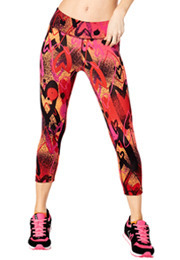 Zumba Love Perfect Capri Leggings