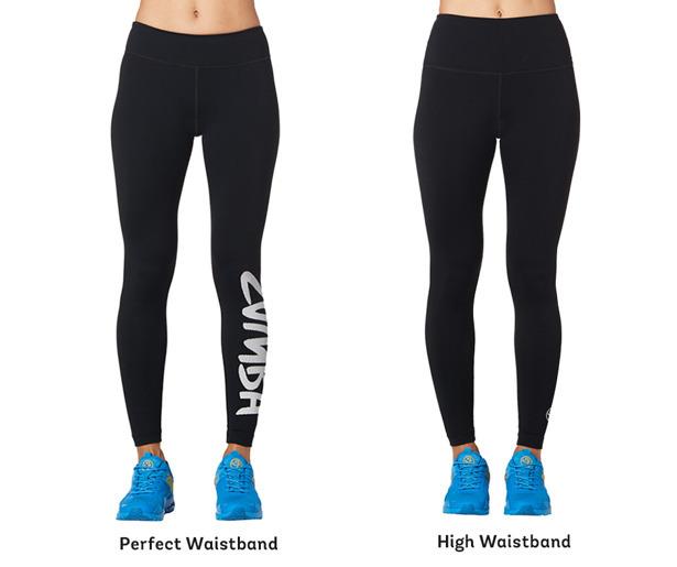 Medium Grey Zumba Fitness Womens Lift Me Up Long Leggings