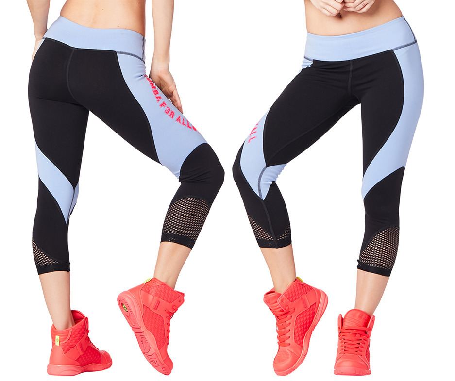 5a952c6e3b7 Zumba For All Crop Leggings