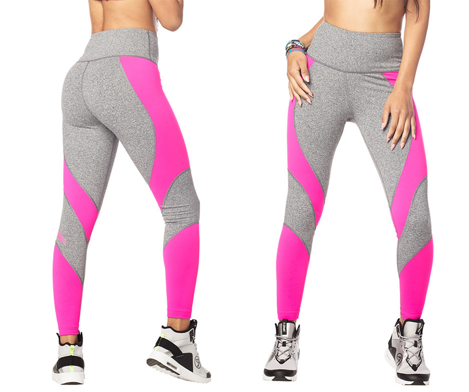 212c84a84b84f7 Making Moves High Waisted Ankle Leggings | Zumba Fitness Shop