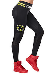 Zumba Varsity High Waist Ankle Leggings product image