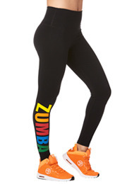 Zumba Next Level High Waist Ankle Leggings product image