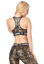 35dcc744c6b3f Zumba Has My Heart Metallic V-Bra
