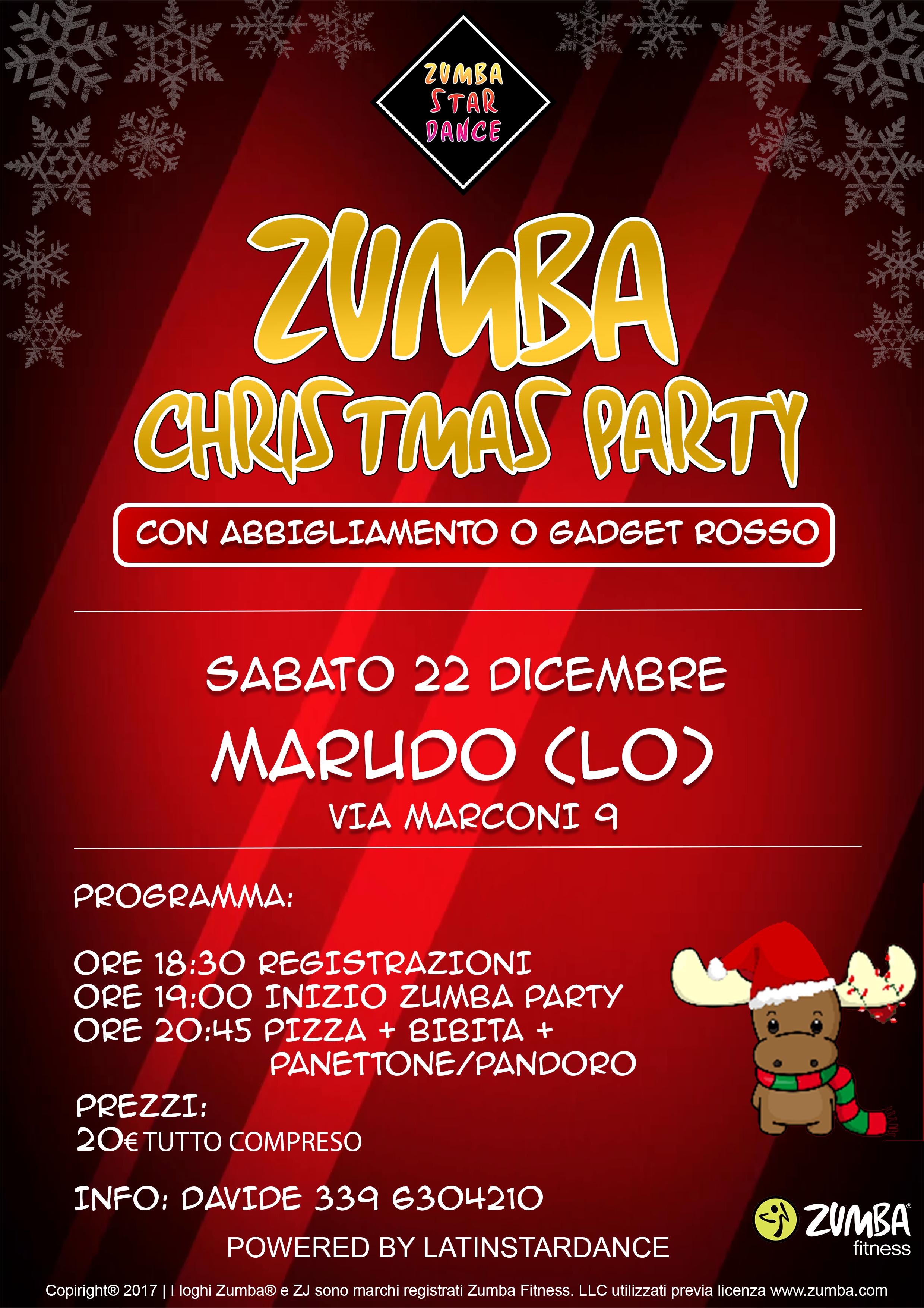 Auguri Di Natale Zumba.Zumba Christmas Party 2018