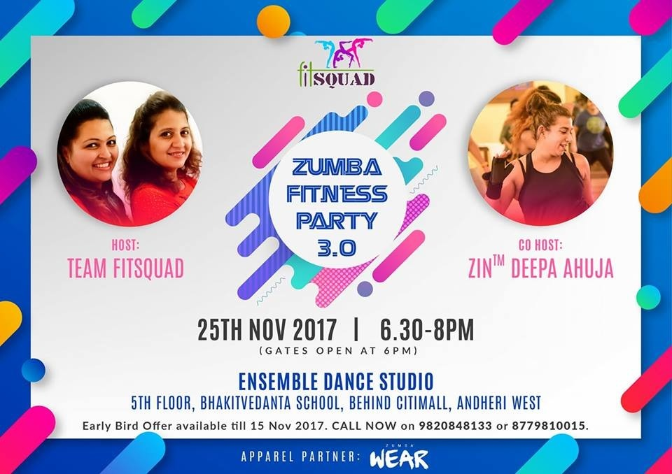 Zumba ditch the workout join the party stopboris Images